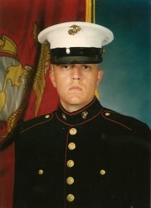 Robin Griffiths, U.S. Marine