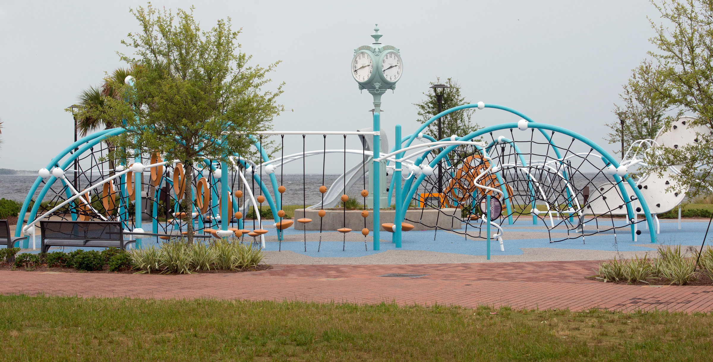 Community Maritime Park Scores Highest. It has good lighting, memorable features and well-maintained facilities.