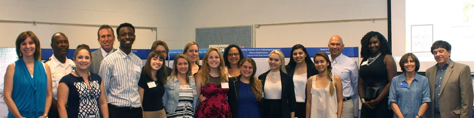 ESEH 1 - UWF hosts area students, teachers for Emerging Scholars in Environmental Health program