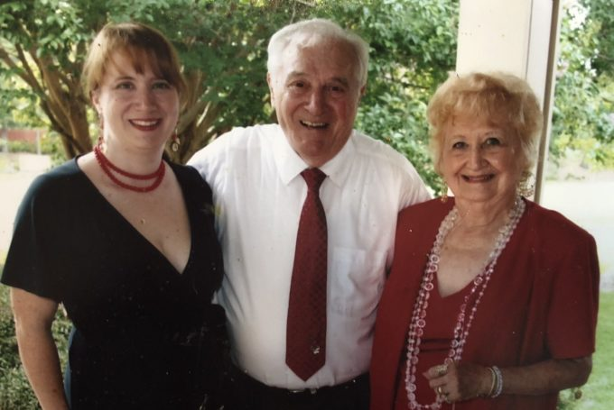 "Cornelia ""CeCe"" Boone with her parents, Curtis and Lavonna Boone"