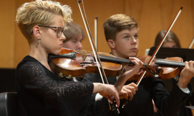 UWF Department of Music presents the Runge Strings Orchestra in concert