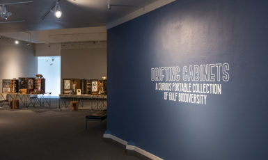 """The Art Gallery (TAG) at UWF presents """"Drifting Cabinets: A Curious Portable Collection of Gulf Biodiversity"""""""