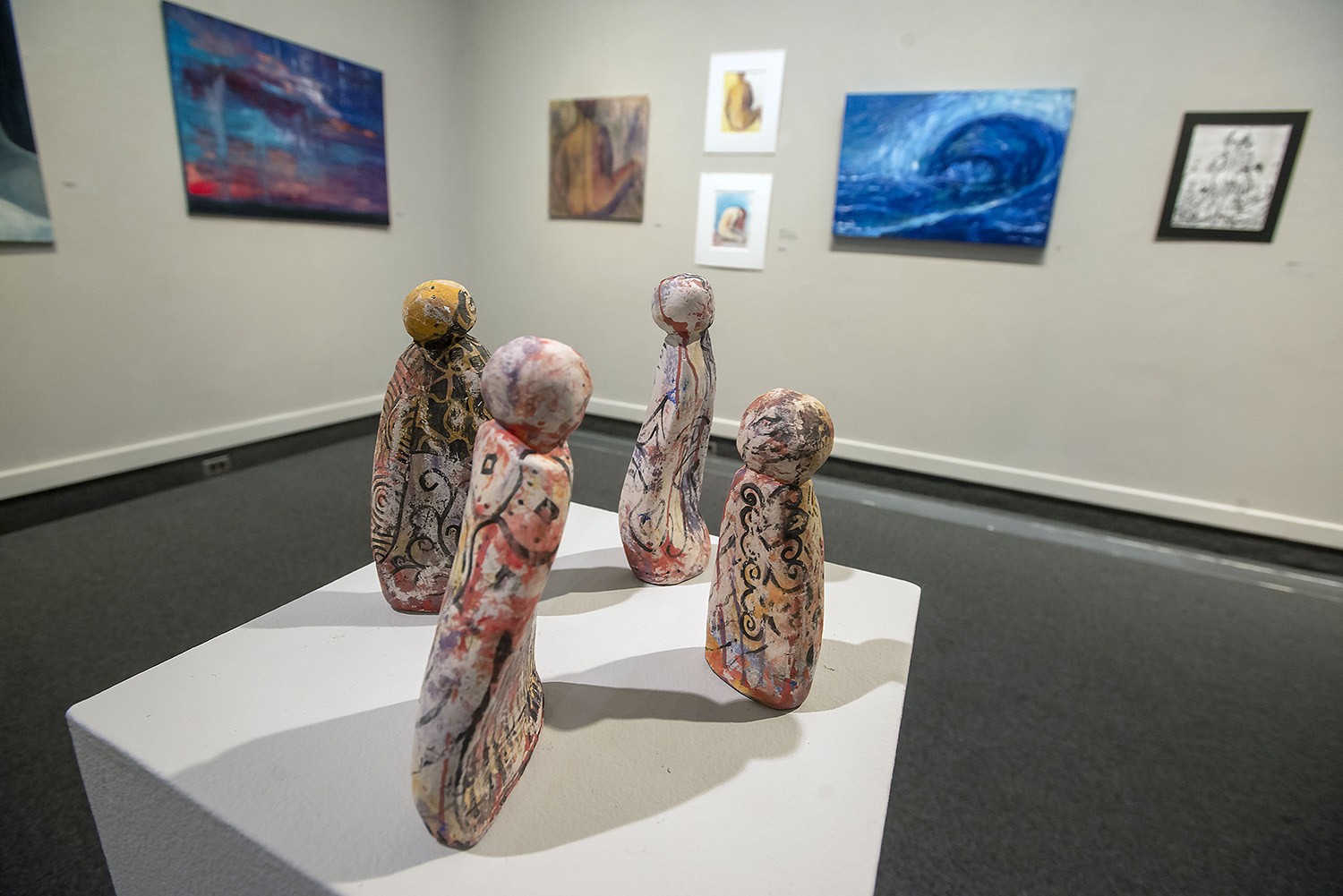 "The Art Gallery at UWF presents ""SynThesis, a Group BFA Exit Exhibition"""