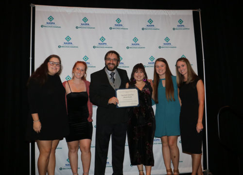 "UWF peer educators awarded ""Outstanding Peer Education Program"" at 2018 NASPA conference"