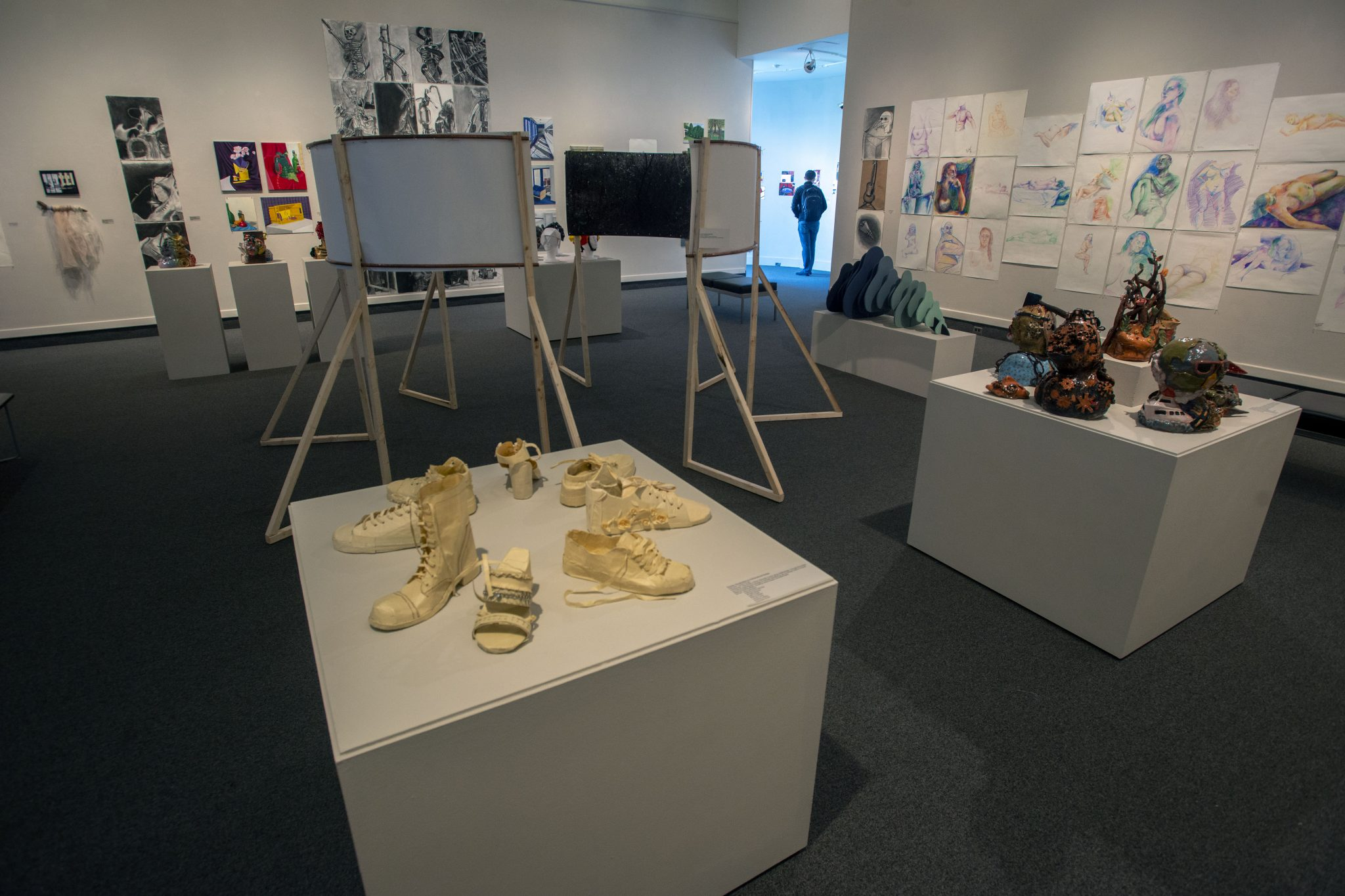 "The Art Gallery at the University of West Florida presented ""Points of Departure: A Foundations-level Exhibition"" from Monday, Jan. 7 - Thursday, Jan. 24, 2019. A closing reception took place on Thursday, Jan. 24, 2019. TAG is located in the Center for Fine and Performing Arts, Building 82, on the Pensacola campus."