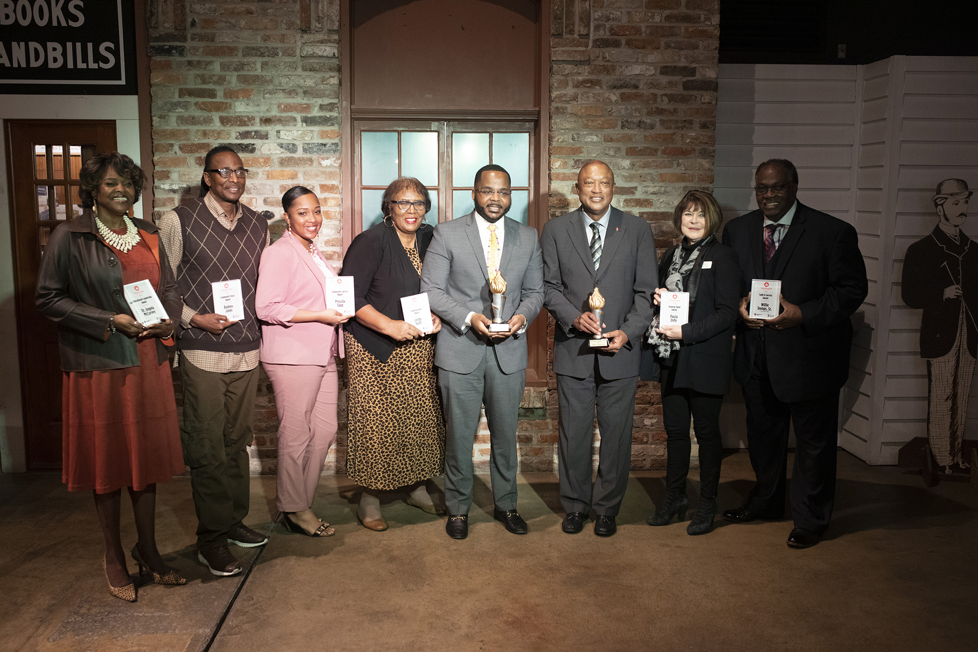 UWF honors local community members at the third annual Trailblazer Awards luncheon hosted at the Museum of Commerce on Feb. 20, 2019