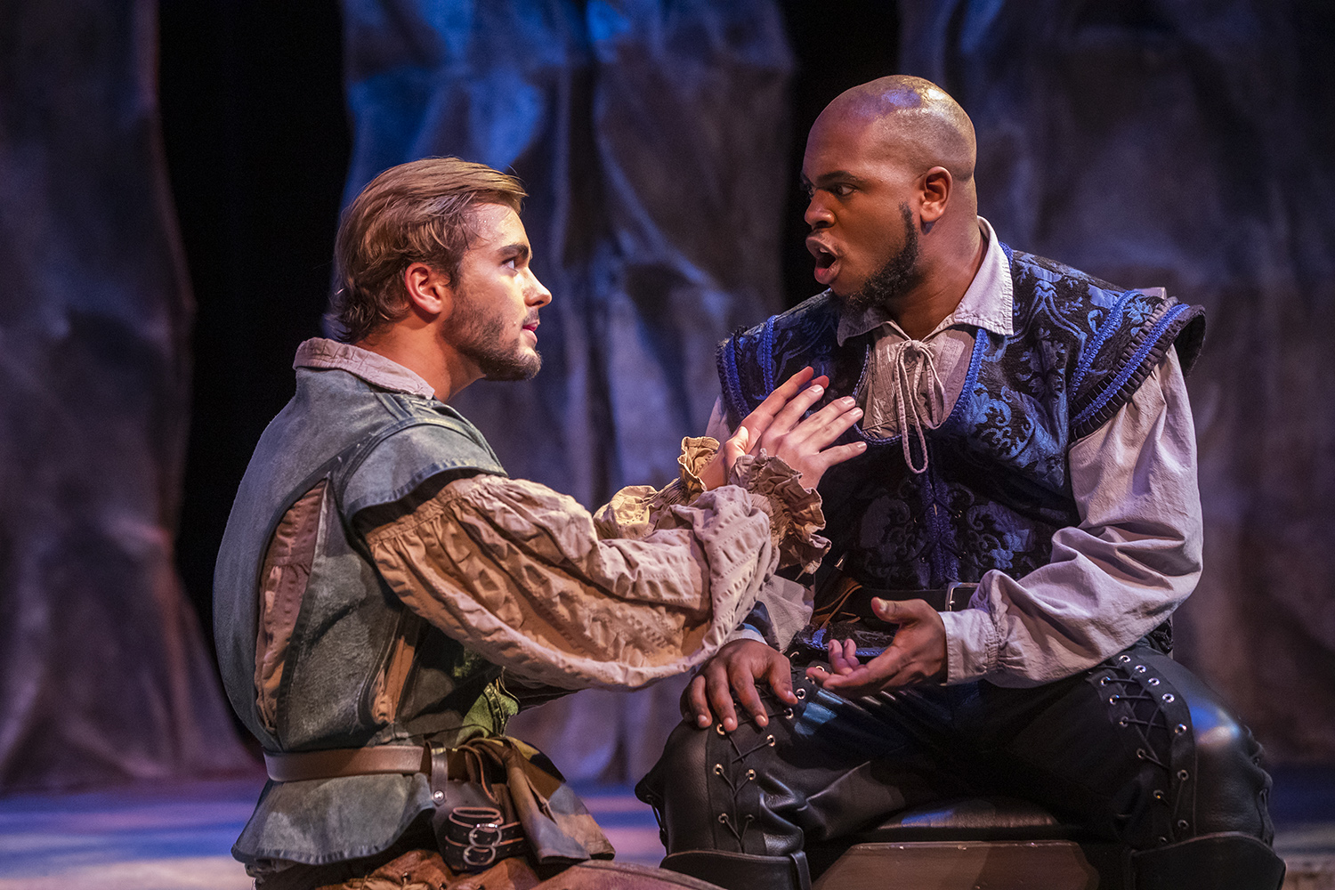 The Department of Theatre in the College of Arts, Social Sciences and Humanities presents Othello at the Mainstage Theatre at the Center for Fine and Performing Arts, Building 82, on the Pensacola campus from October 18, 19, 25 and 26 at 7:30 p.m. and October 20 and 27 at 2:30 p.m.