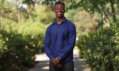 University of West Florida freshman Brandon Lawrence