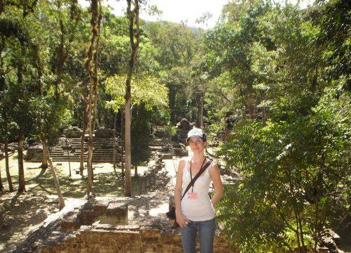 Dr. Katherine Miller Wolf Fulbright Scholar in Copan, Honduras