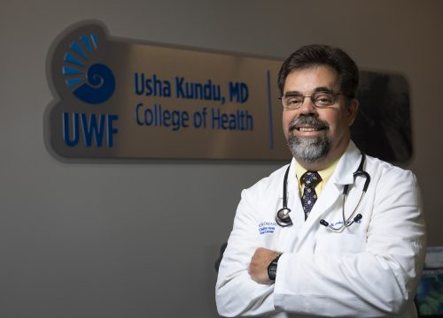 UWF faculty member Dr. Wesley Farr