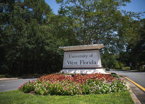 UWF Main Entrance