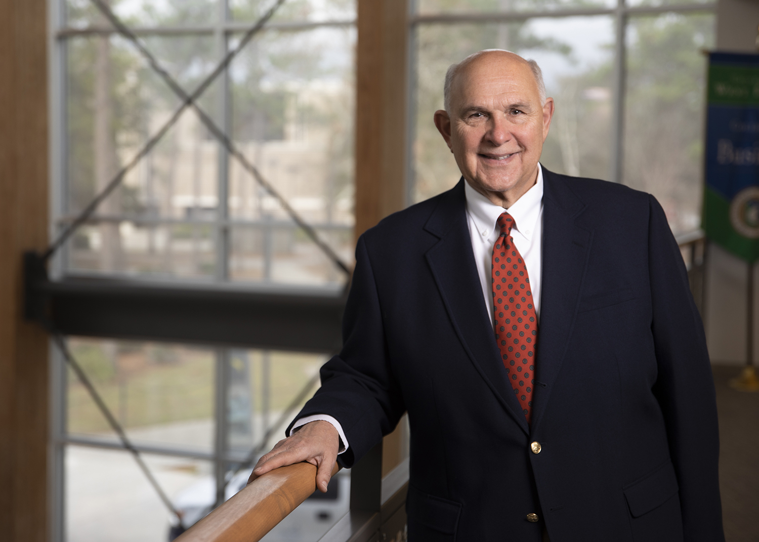 Richard Fountain, dean of the UWF College of Business