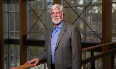 Dr. Robert Perkins, professor of management and Fulbright Specialist in Entrepreneurship.
