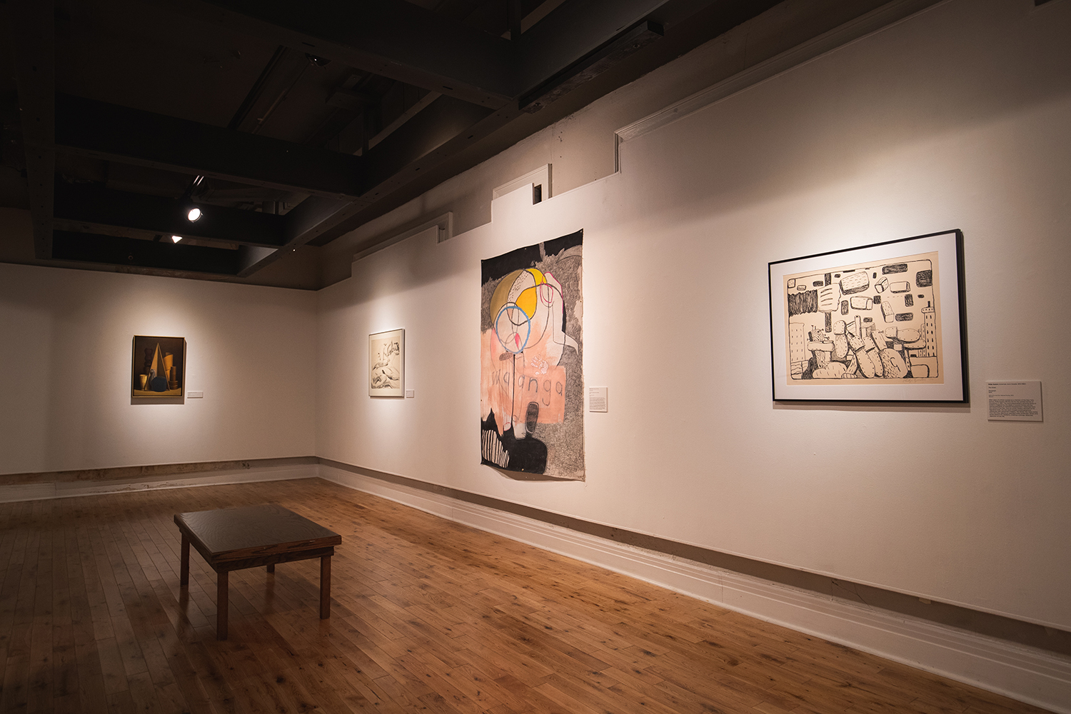 A Question of When, displayed at the Pensacola Museum of Art, features work across a multitude of mediums from numerous artists, all expressing their perspectives on societal shift brought on by the COVID-19 pandemic.