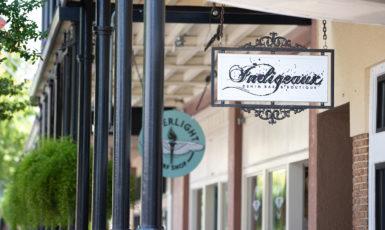 Indigeaux Denim Bar & Boutique in Downtown Pensacola.