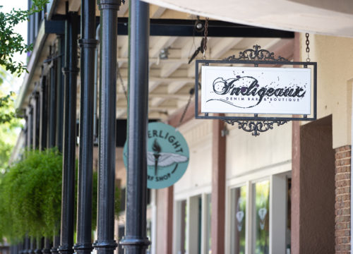 Indigeaux Denim Bar & Boutique in Downtown Pensacola.