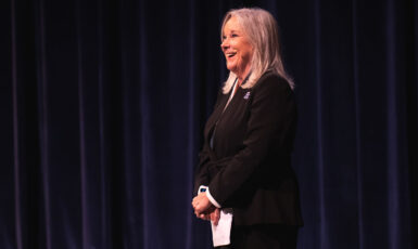 "University of West Florida President Martha D. Saunders reflected on a year of extraordinary accomplishments before turning her attention to ""big goals"" during her 2019 State of the University address on Sept. 27."