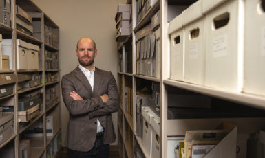 Dr. Jamin Wells, assistant professor and director of the Public History Master's Program at UWF on Jan. 15, 2021.
